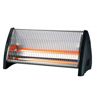2 Radiant Quartz Heater